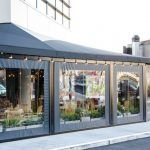 Enclosed awning